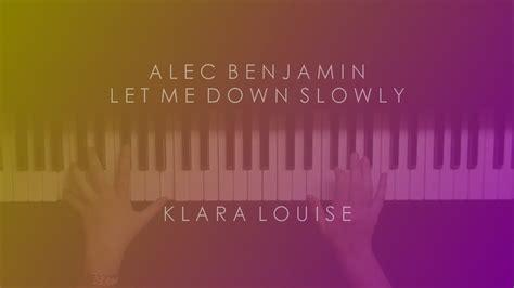Alec Benjamin Piano Cover