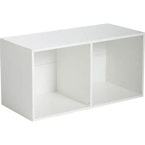 etag 232 re 2 cases multikaz blanche l35 2 x h69 2 x p31 7 cm leroy merlin canap 233