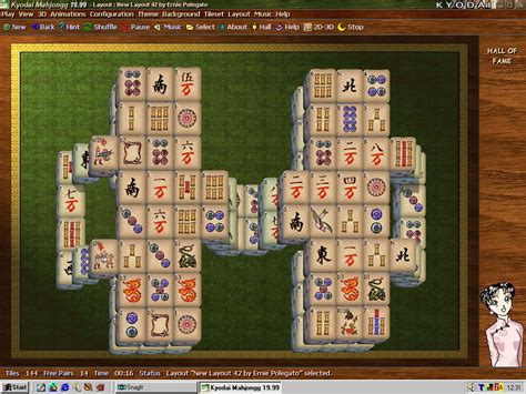 Mahjong Solitaire Tile Layouts by Solitaire Mahjongg A Guide To The World Of The Computer