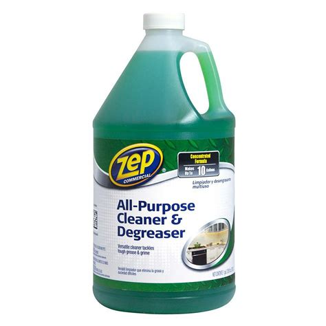 zep 128 oz concentrated all purpose cleaner and degreasers of 4 zu0567128 the home depot