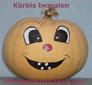 Bemalte Kürbisse Vorlage : k rbisse mit gesicht bemalen basteln rund ums jahr ~ Markanthonyermac.com Haus und Dekorationen
