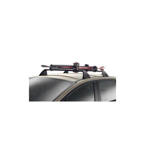 porte skis sur barres de toit 6 paires de skis peugeot