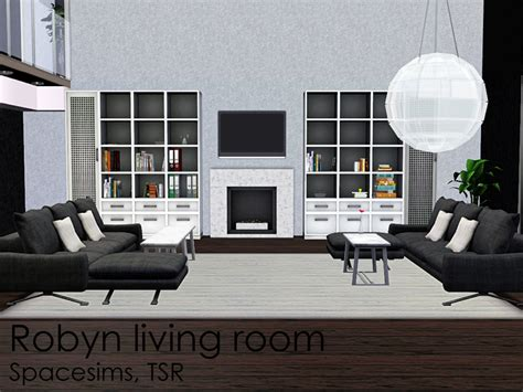 Spacesims' Robyn Living Room Door Jamb Insulation Barn Doors And More Lock Knob Drywall Access Garage Guide Rails Code Grommet Curtains For Sliding Glass Ada Opener