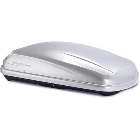 coffre de toit feu vert premium evospace 400dx gris argent feu vert