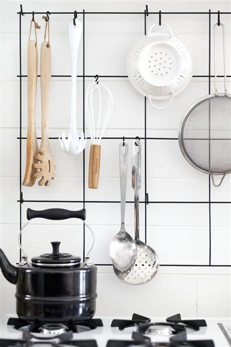 Diy Wire Utensil Rack  A Beautiful Mess