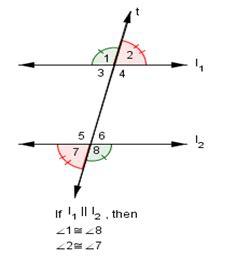 alternate interior angles theorem september 2016 math with mr sweeney
