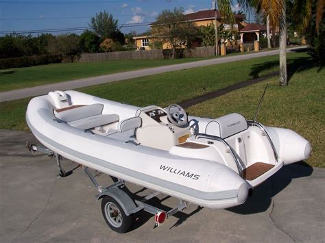 Inflatable Boat Jet by Williams Turbojet 445 15 Feet Rib Inflatable Jet 2009 For
