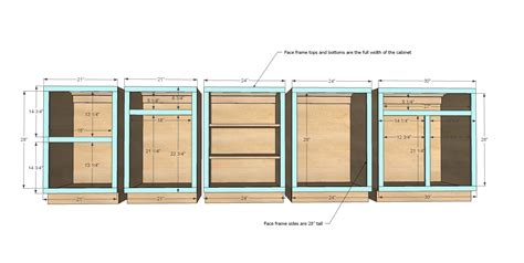 how to build kitchen cabinets free plans manicinthecity