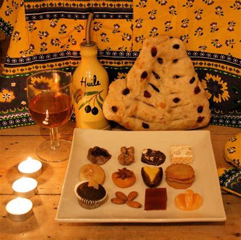13 desserts of provence at treize desserts de provence noel