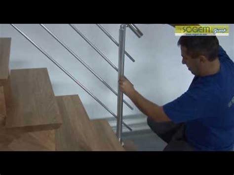 montage d un escalier contemporain en kit auvergne droit