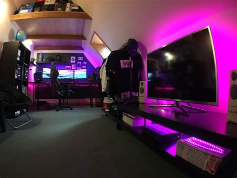Home Decor Reddit : Console Gaming Setup Ideas Video Game Best Room Ever Pc