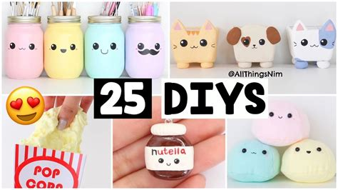 Nim C Home Decor : Making 25 Amazing Diy Slimes, Squishies & Room Decor