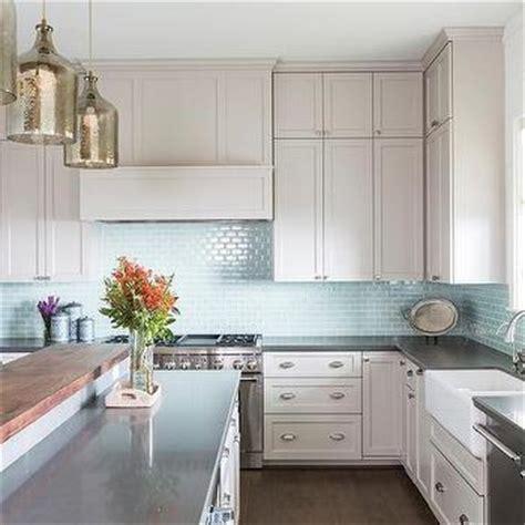 Kitchens  Blue Kitchen Tiles