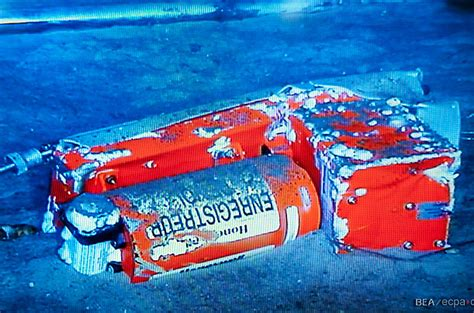 Underwater Photos Air France 447 Flight Data Recorder