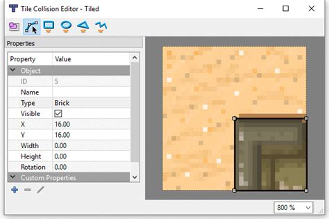 100 tiled map editor animation on with