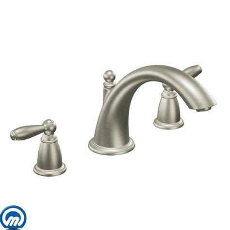 faucet t933bn in brushed nickel by moen