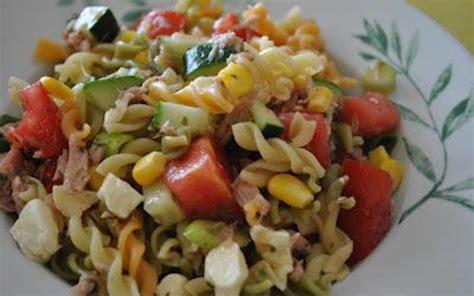 recette salade de p 226 tes estivale pas ch 232 re gt cuisine 201 tudiant