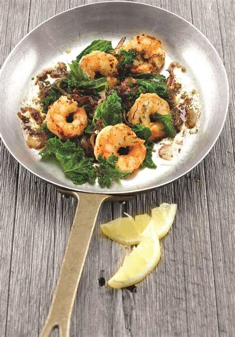 recettes sant 233 nutrisimple crevettes au gingembre et saut 233 de chou fris 233