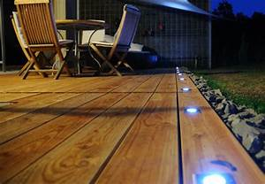 Led Terrassenbeleuchtung Boden : l clairage ext rieur id al petit guide obi ~ Markanthonyermac.com Haus und Dekorationen