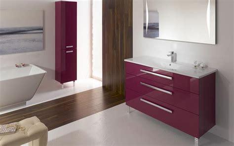 meuble salle de bain fushia