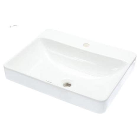 kohler vox vessel sink in white k 2660 1 0 the home depot