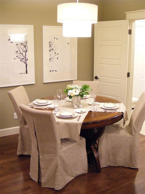 slipcovers for dining room chairs that embellish your usual dining chairs homesfeed