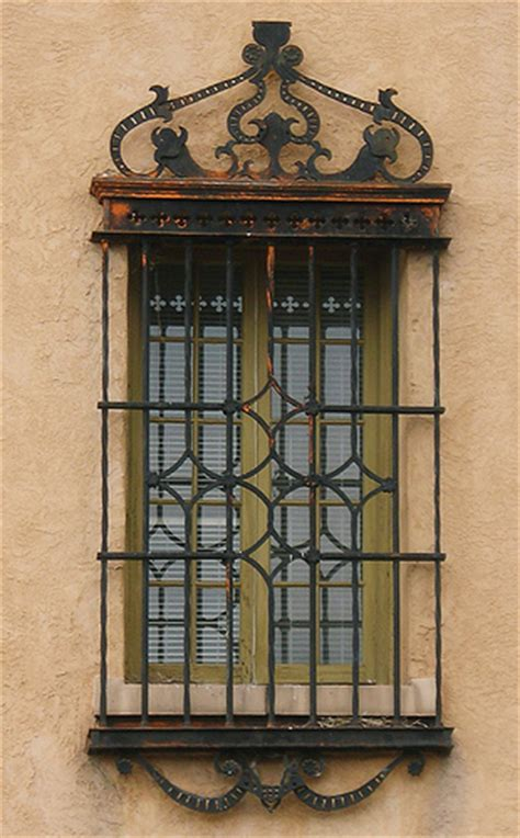 window with decorative security bars santa fe new mexico flickr