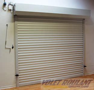 porte de garage enroulable sur mesure aluminium pas cher