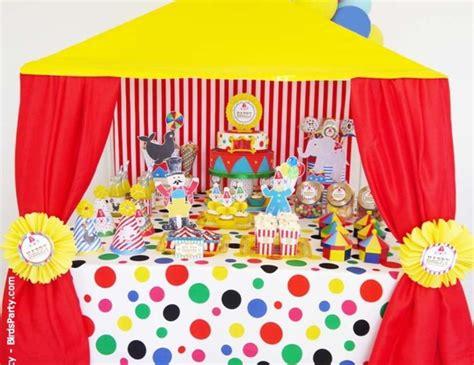 "Circus  Carnival  Birthday ""joint Big Top Circus"