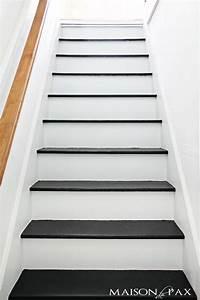 Treppen Streichen Ideen : die besten 25 gestrichene treppen ideen auf pinterest treppe streichen malerei treppe und ~ Markanthonyermac.com Haus und Dekorationen