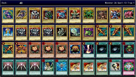 yami yugi decks legacy of the duelist 1st ygoprodeck