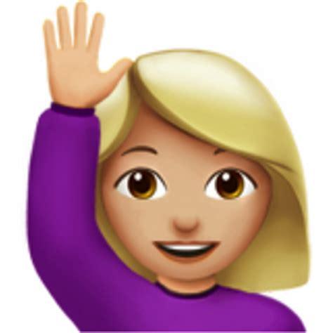 Medium-light Skin Tone Emoji (u+1f64b