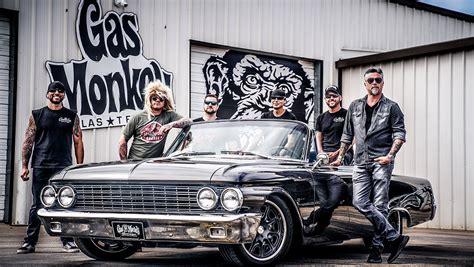 The Monkeys  Gas Monkey Garage  Richard Rawlings Fast