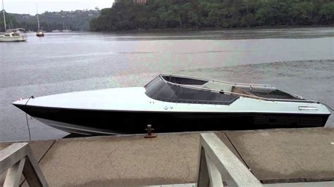 Fast Boat Videos by Scarab 1ss First Tune Sydney Go Fast Boat Wellcraft