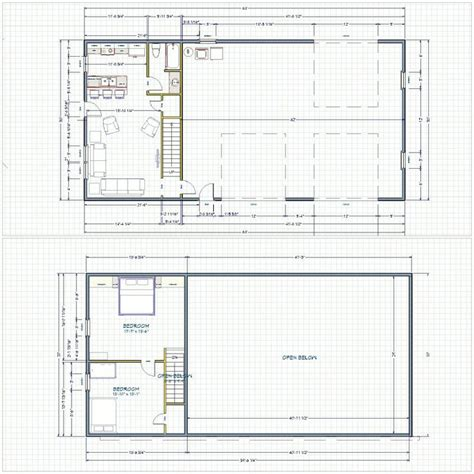 Metal Shop With Living Quarters Floor Plans by Best 25 Shop With Living Quarters Ideas On