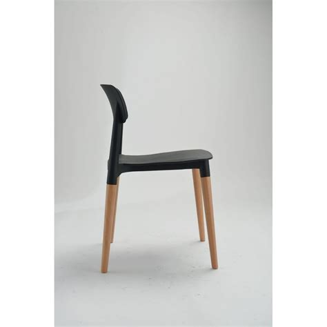 chaise design scandinave blanche ou glamwood