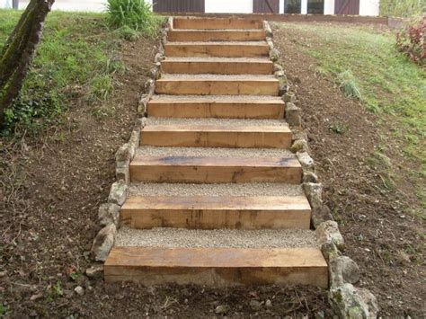les 25 meilleures id 233 es de la cat 233 gorie escalier de jardin sur marches jardin