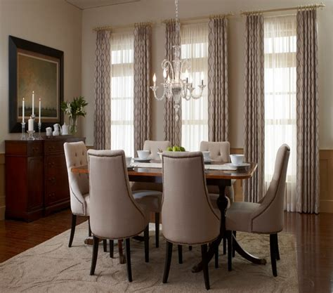 houzz living room curtains dining room traditional dining room san diego by