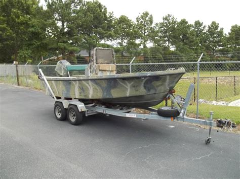 Parker Boats On Craigslist by 1994 1801 Parker Camo Great Duck Hunting Boat The Hull