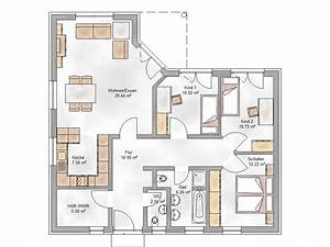 Grundriss Bungalow 100 Qm : grundriss bungalow 100 qm ~ Markanthonyermac.com Haus und Dekorationen