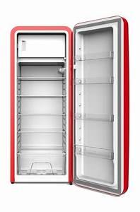 Retro Kühlschrank Gefrierkombination : retro k hlschrank havanna in rot virc330 gastro cool g nstig k hlen ~ Markanthonyermac.com Haus und Dekorationen