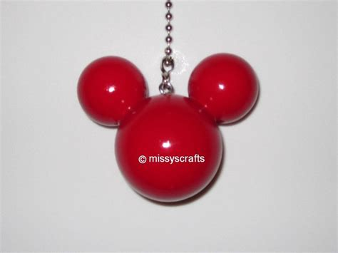 mickey mouse light ceiling fan pull chain by