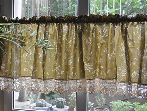 country floral cafe kitchen curtain valance 008 ebay