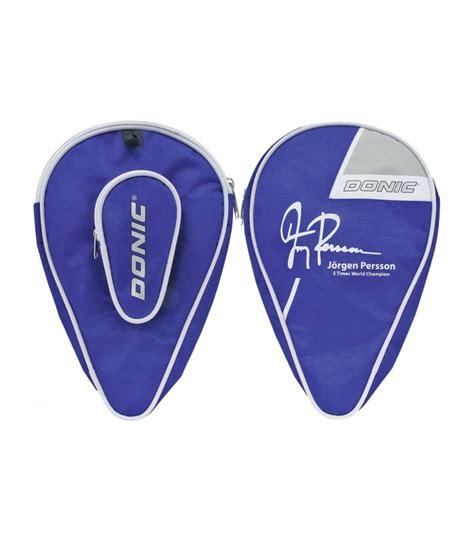 housse pour raquette de ping pong donic persson silver equipment