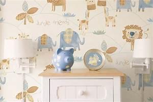 Tapeten Für Babyzimmer : kinderzimmer baby tapete bibkunstschuur ~ Markanthonyermac.com Haus und Dekorationen