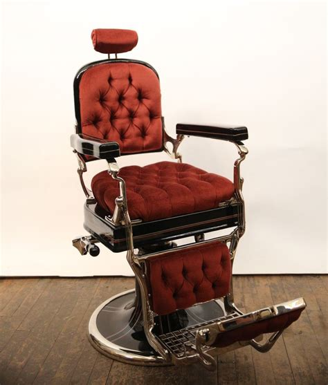 vintage 1930 s koken porcelain antique barber chair barber