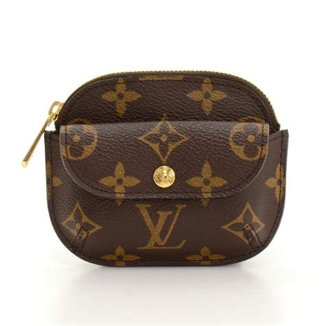 louis vuitton louis vuitton porte monnaie shilling monogram canvas