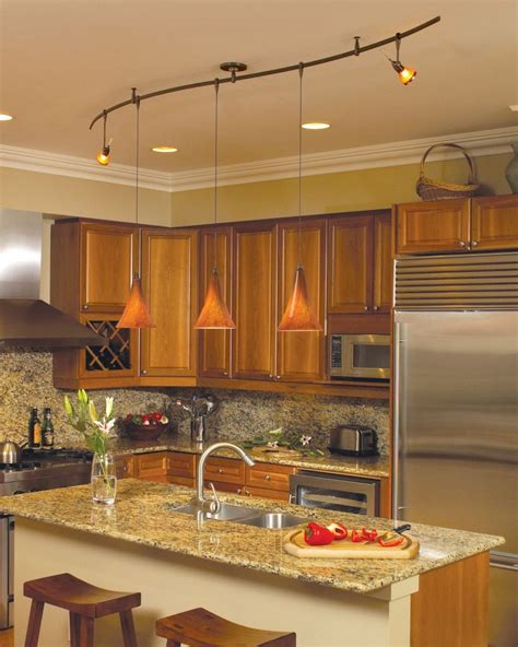 Kitchen Track Lighting Ideas Pictures by Wonderful Kitchen Track Lighting Ideas Midcityeast