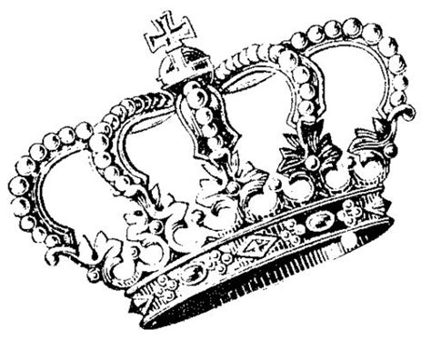 Crown Drawing, Crowns And Brain
