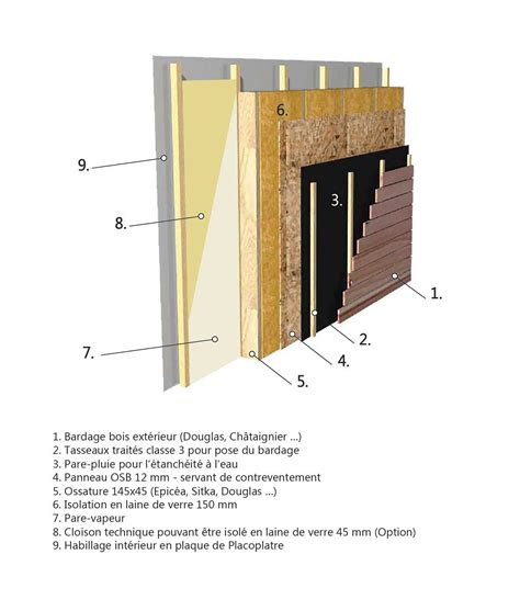 mur en bois une isolation 12 fois sup 233 rieure